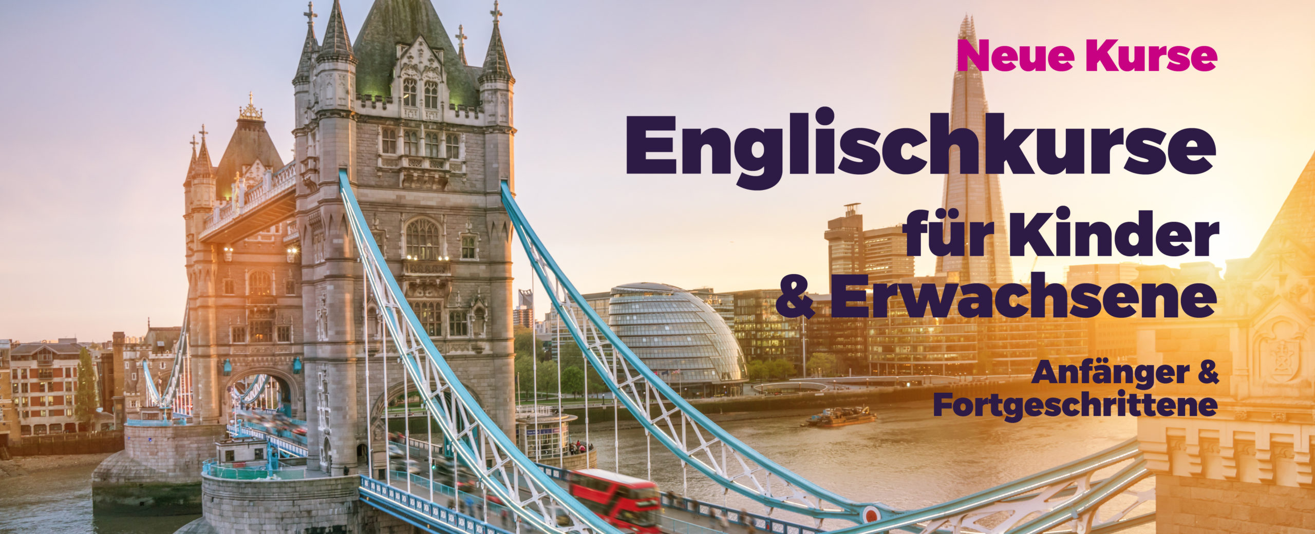 Neuer Kurs: Englisch für die Reise (A1)